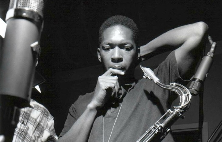 john coltrane blue train bw