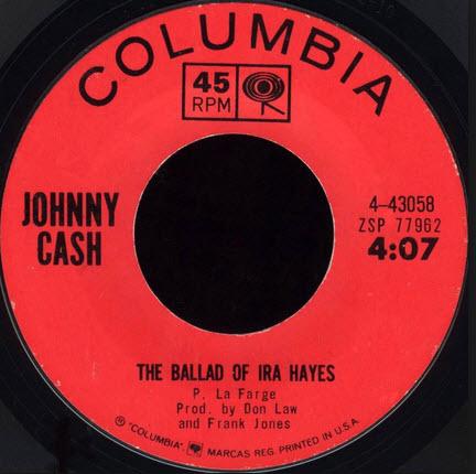 johny cash ballad of ira hayes