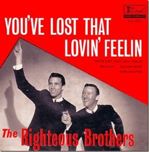 righteus brothers you've lost that lovin feeling