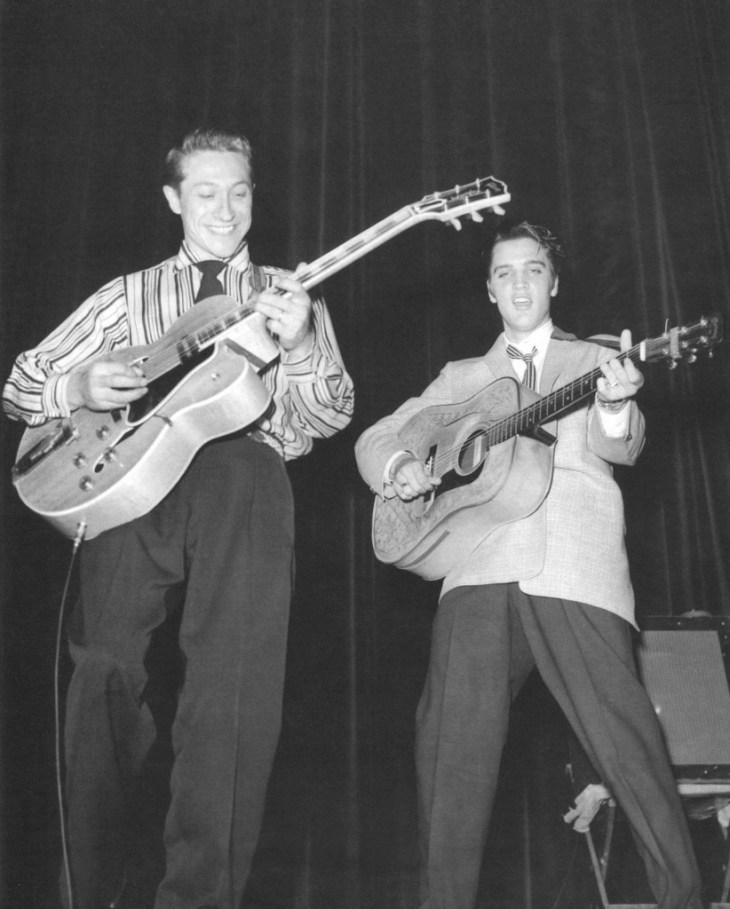 Scotty Moore and Elvis