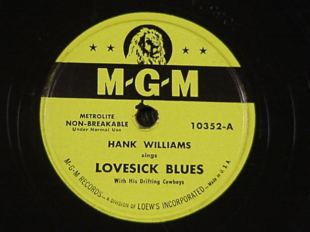 hank williams lovesick blues