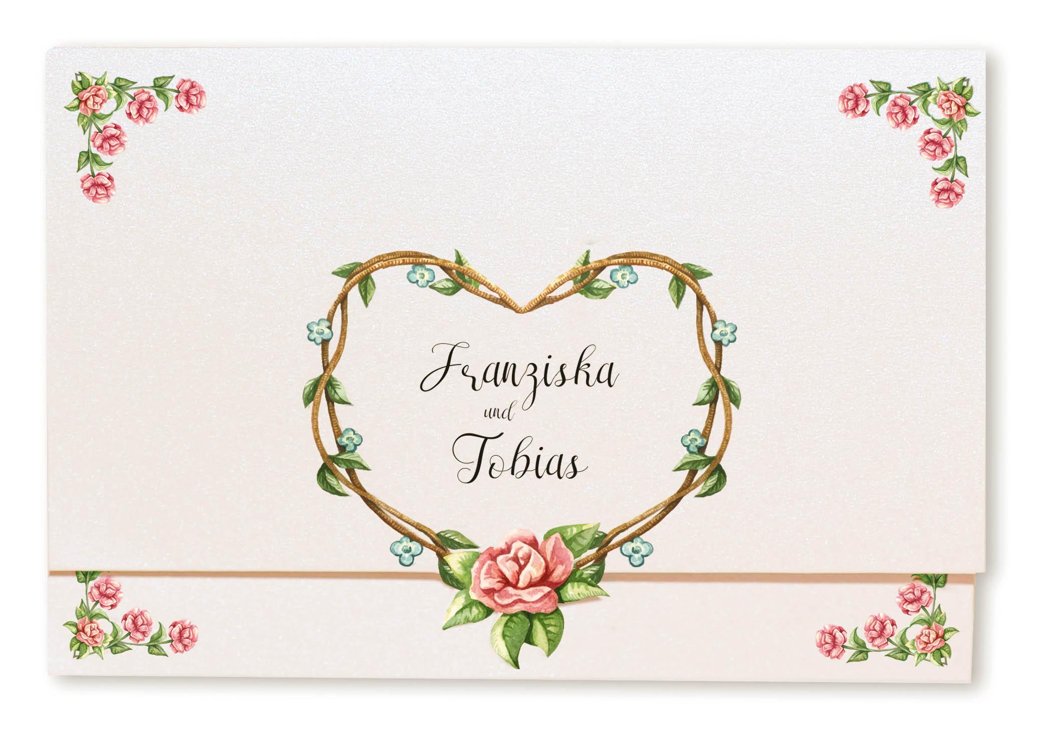 Einladungskarten Hochzeit Rosen Danksagungskarten Hochzeit Mit