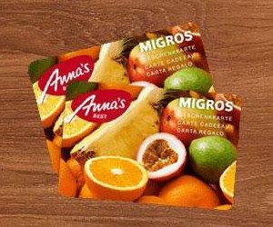 Migros-Geschenkkarten gewinnen