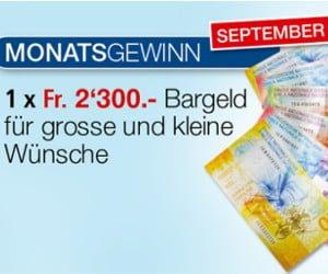 Gewinne bis zu 29'000 Franken