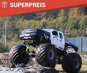 Gewinne eine Monstertruck-Fahrt