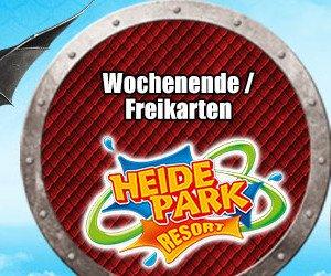Heide Park Wochenende oder Freikarten gewinnen