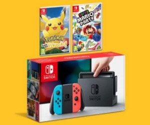 Nintendo Switch mit Spiel gewinnen