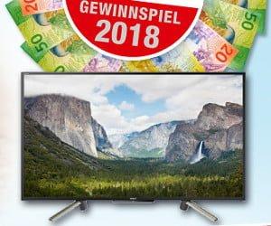 CHF 29'000.- Bargeld oder 3x einen Fernseher gewinnen