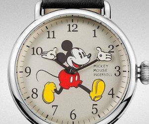 Designer-Uhr mit Mickey Mouse gewinnen