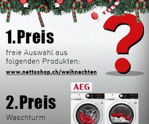 Tolle Preise von nettoshop.ch zu gewinnen