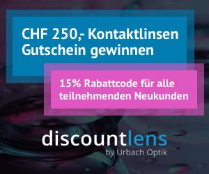Discountlens Kontaktlinsen gewinnen