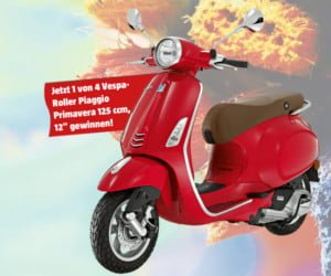 Roller Piaggio Primavera gewinnen