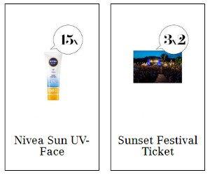 Make-Up, Sonnencreme, Duschmittel, Gesichtsmaske und Festivaltickets gewinnen