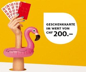 Manor-Gutschein im Wert von CHF 200.- gewinnen