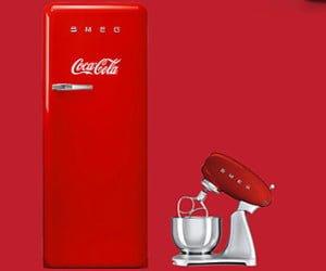 Vintage-Velo, Vintage-Kühlschrank oder Küchenmaschine gewinnen