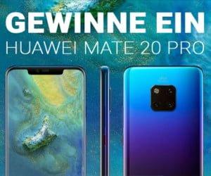 Smartphone von Huawei gewinnen