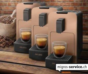 Kaffeemaschine von Delizio gewinnen