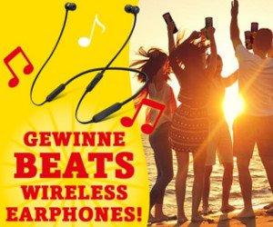 Beats Wireless Earphones gewinnen