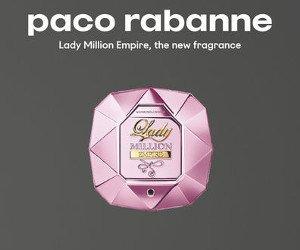 Duftprobe von Paco Rabanne erhalten