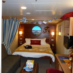 Disney Dream Sofa Bed Rocker Recliner Standard And Deluxe Inside Stateroom Cat 11 Cabin 9603