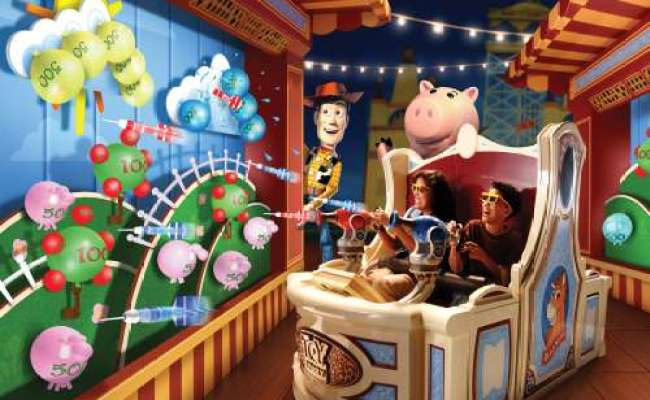 Toy Story Mania Disney S Hollywood Studios Allears Net