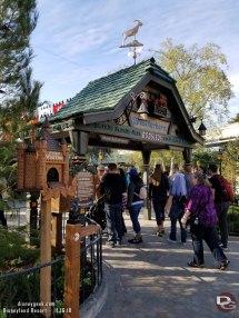 Matterhorn Bobsleds Queue Disneyland