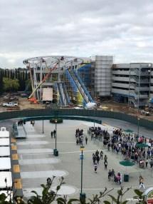 Disneyland Parking Garage Construction Update