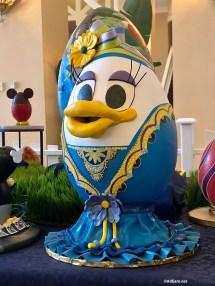 Artful Easter Eggs Pop Epcot Area Resorts Boardwalk