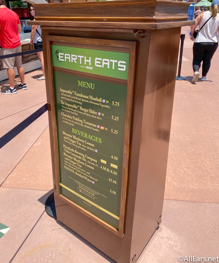 Earth Eats Menu Taste of Food and Wine EPCOT Cast Member Preview_ - AllEars.Net