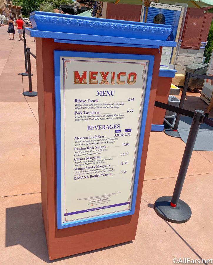 Mexico Menu Taste of Food and Wine EPCOT Cast Member Preview_ - AllEars.Net