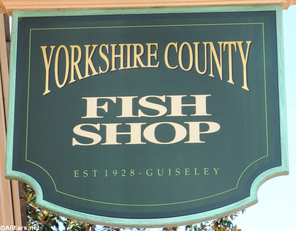 Yorkshire County Fish Shop 2021 Lunch/Dinner Menu and Prices - AllEars.Net