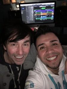 Studiogrüße von José und mir
