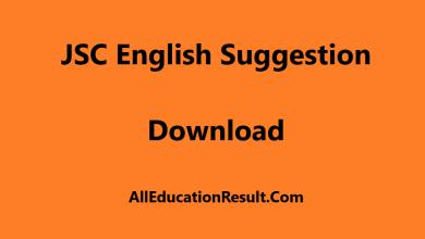 JSC English Suggestion 2018