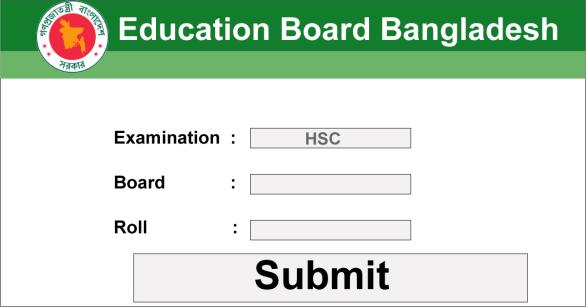HSC Result 2019 Marksheet