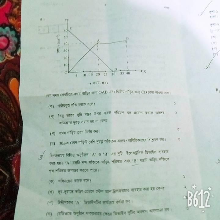 SSC Physics MCQ Question 2020 Answer