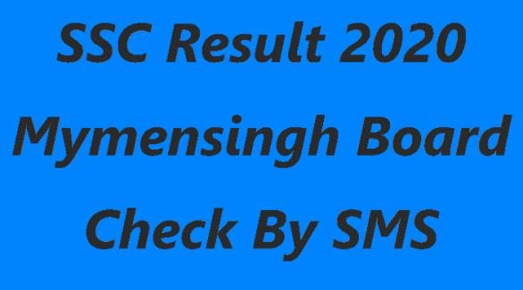 SSC Result 2020 Mymensingh Board Marksheet