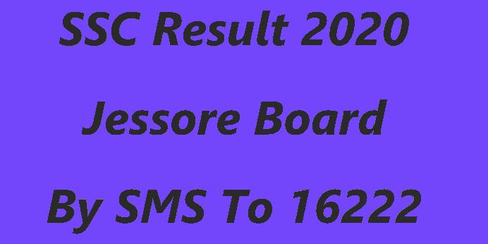 SSC Result 2020 Jessore Board Marksheet