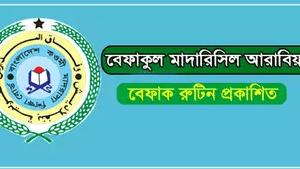 43th Befaq Routine 2020 Bangladesh Qawmi Madrasah