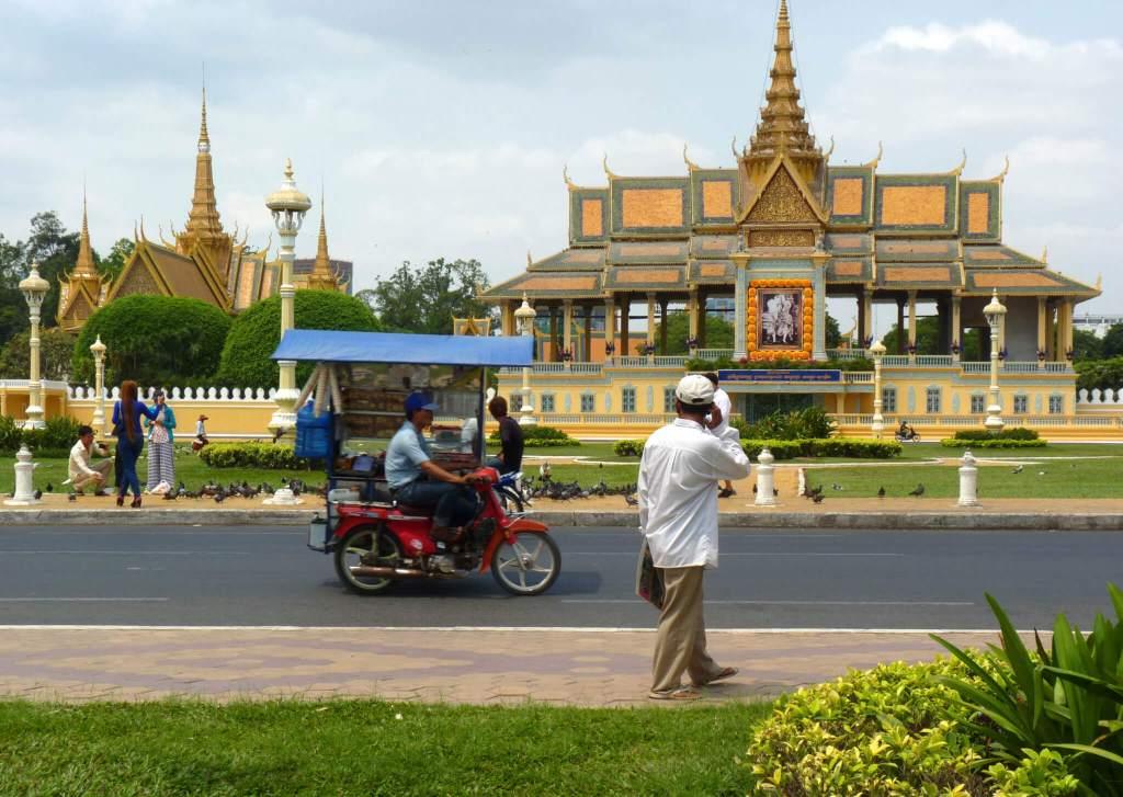 De hoofdstad van Cambodja