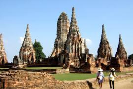 Alleen Backpacken Thailand