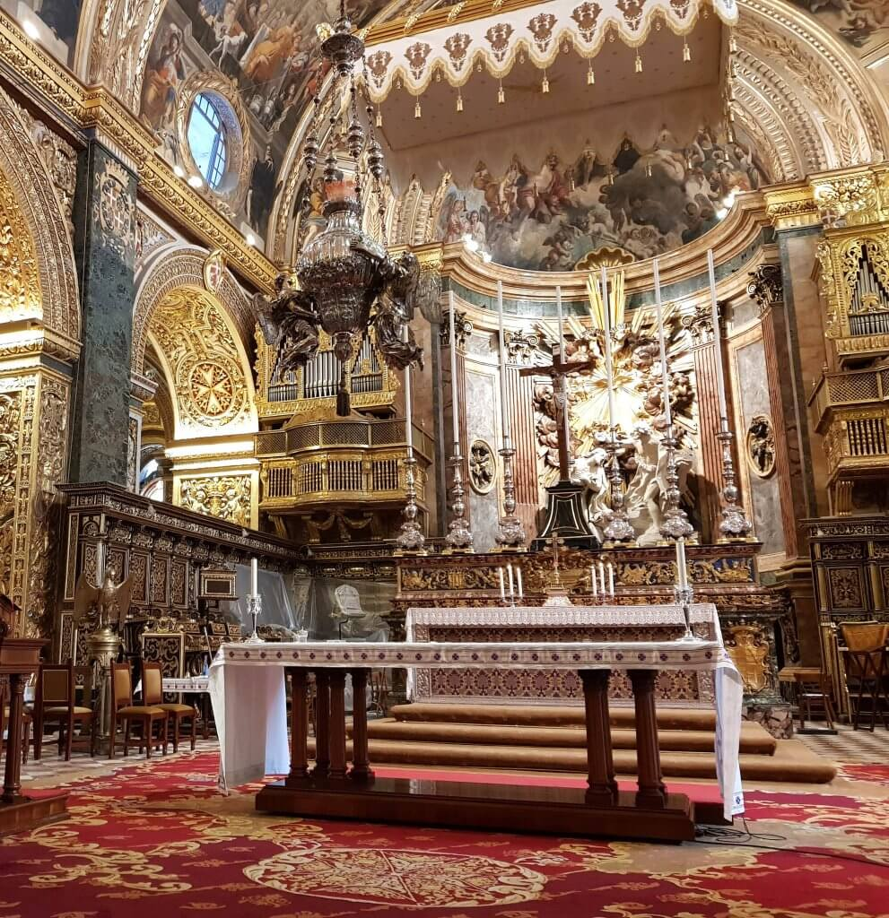St John's co-cathedral Valletta