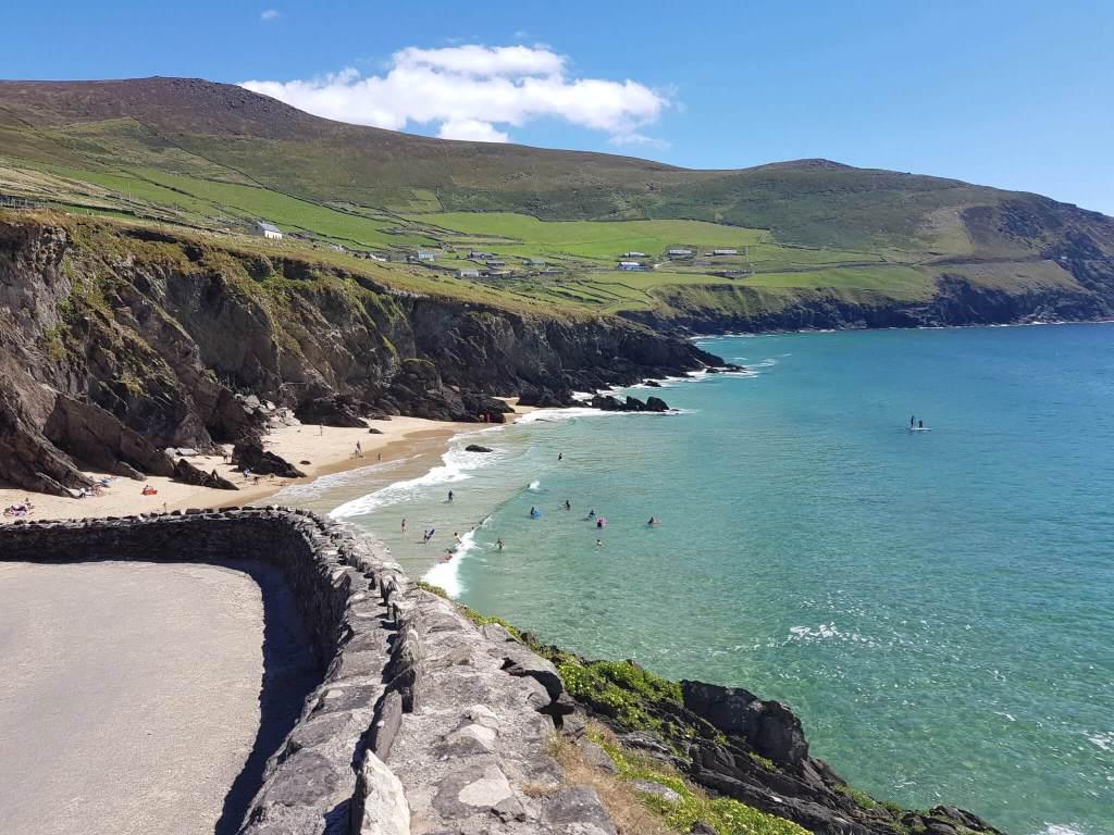 Het schiereiland Dingle aan de westkust van Ierland