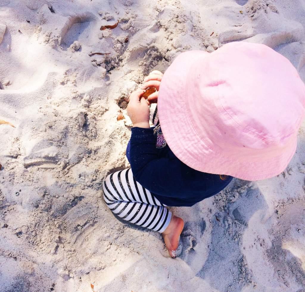 Oppassen op kinderen in Australie