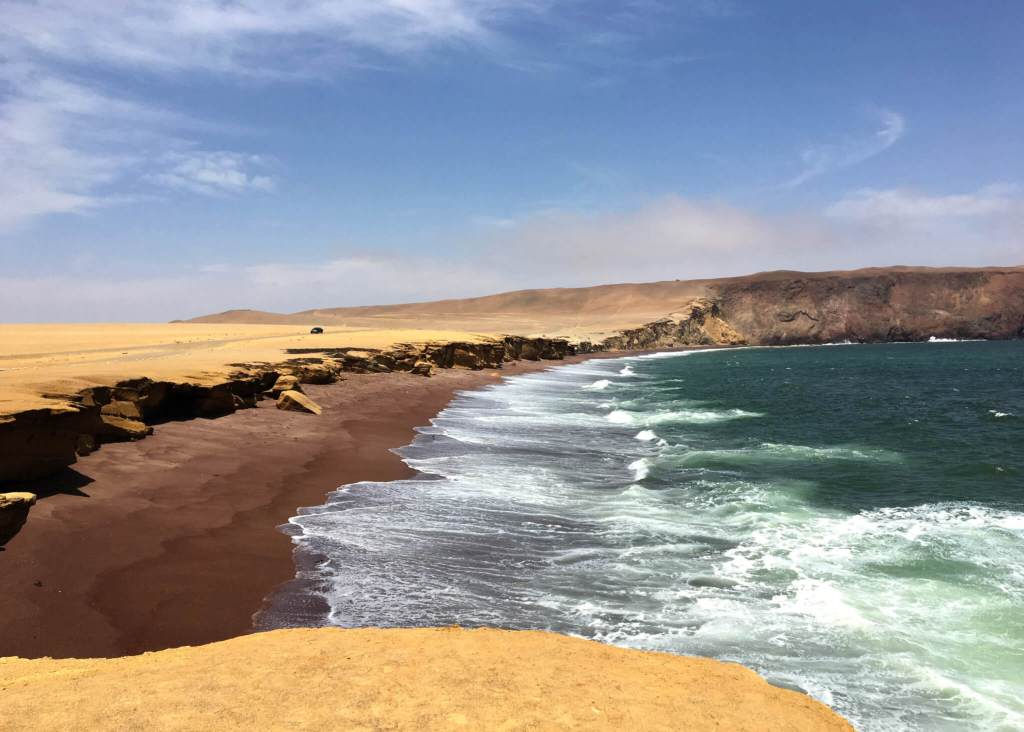 Nationaal park Paracas in Peru