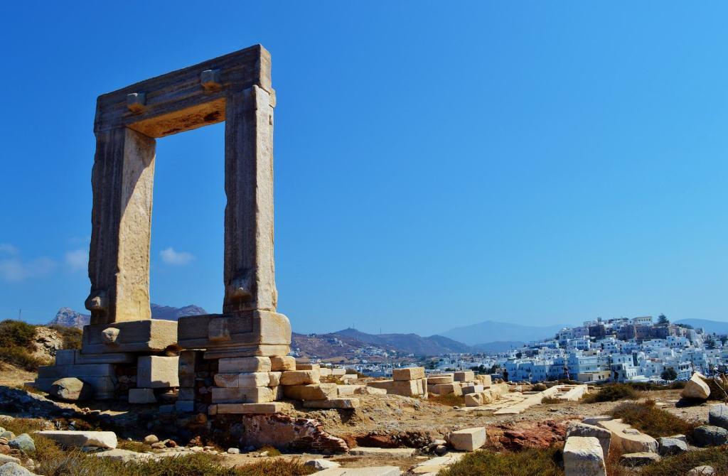 Het eiland Naxos
