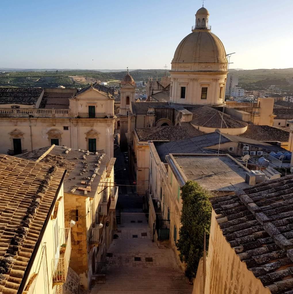 Het Italiaanse eiland Sicilie