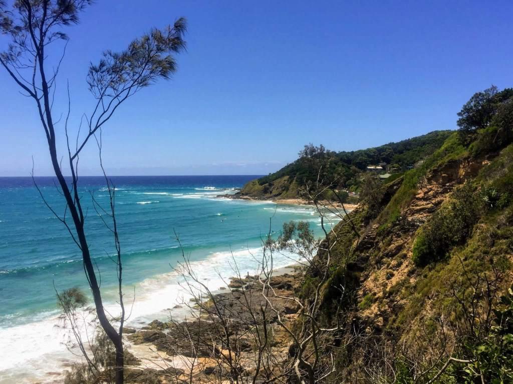 De oostkust van Australie