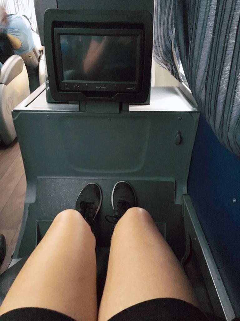 In de bus in Peru