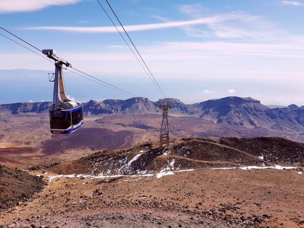 De El Teide vulkaan op Tenerife