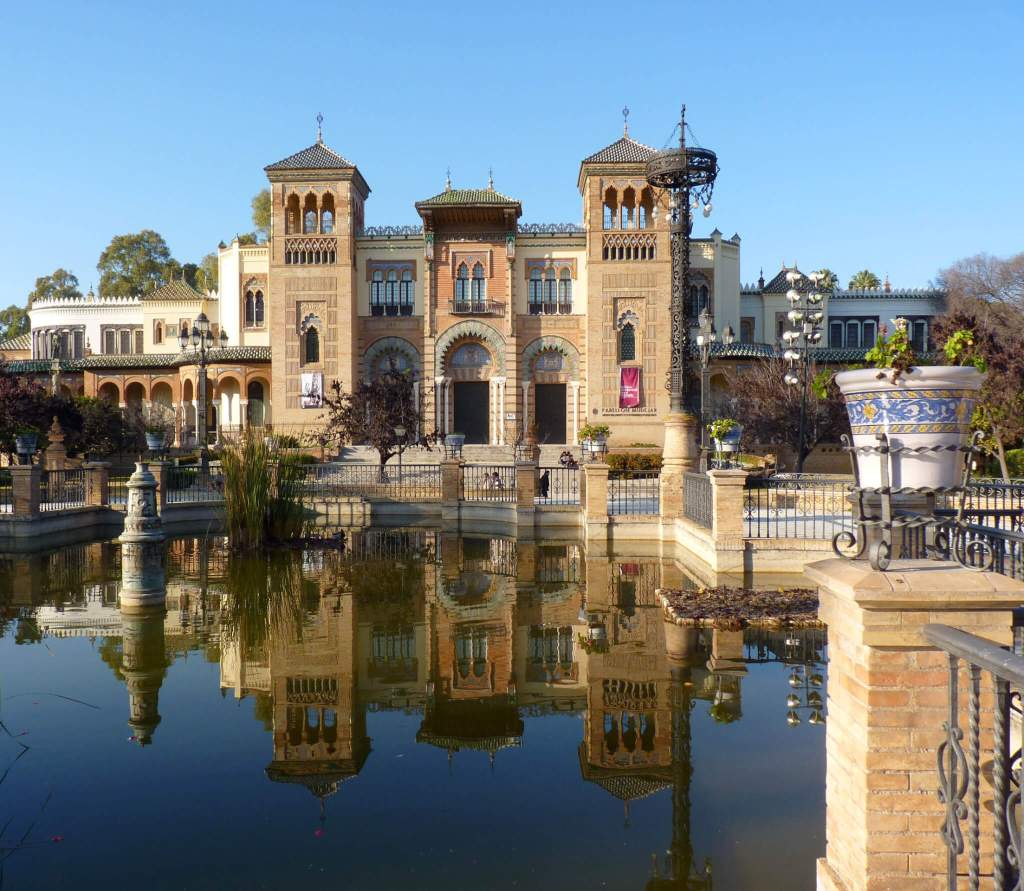 het Maria Luisa Park in Sevilla